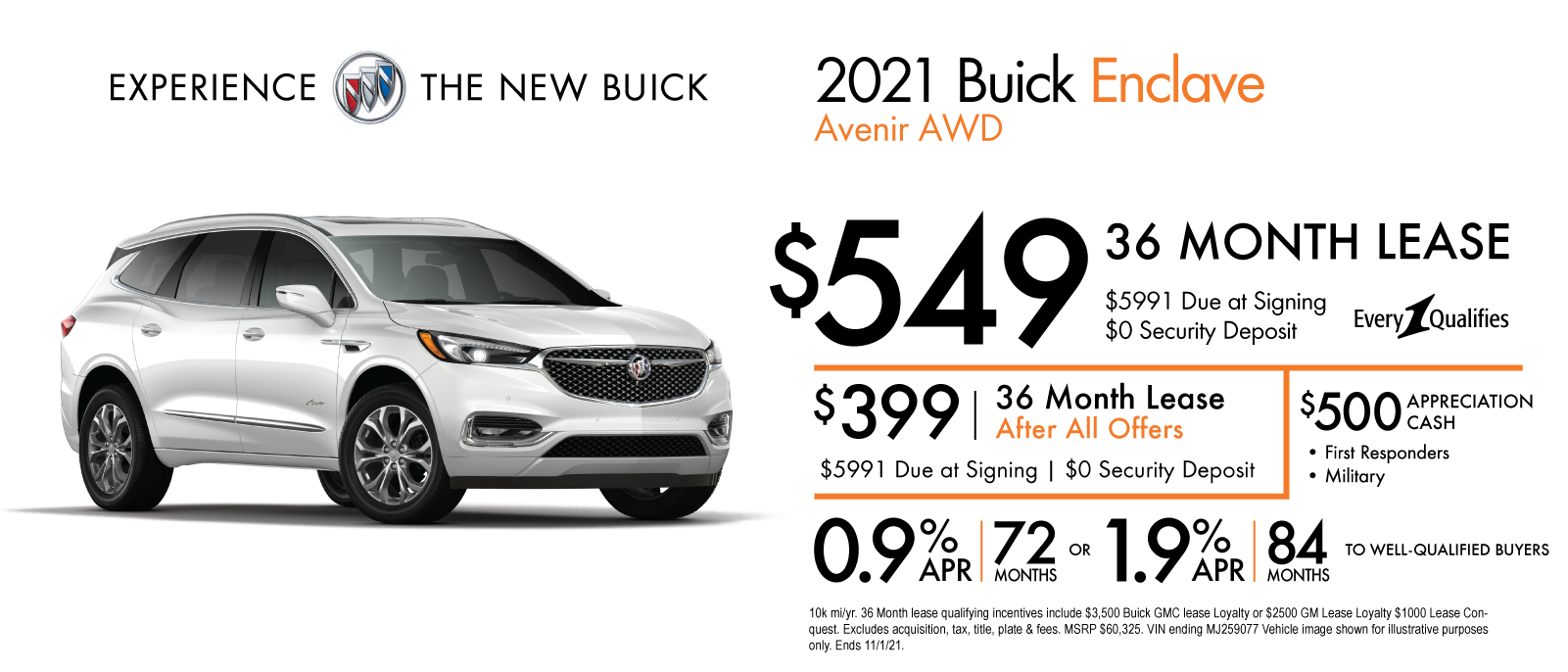 October-2021-Buick-CS-Slides_2021-Buick-Enclave-Avenir