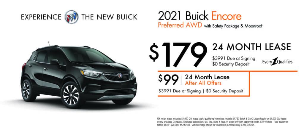 New 2021 Buick Encore