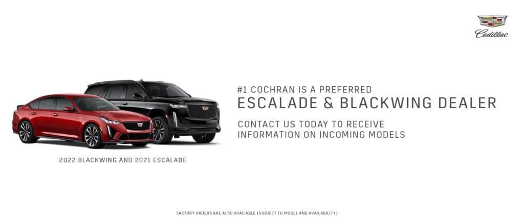 Escalade & Blackwing Dealer