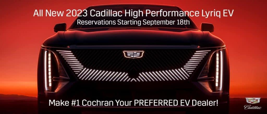 New Cadillac Lyriq EV