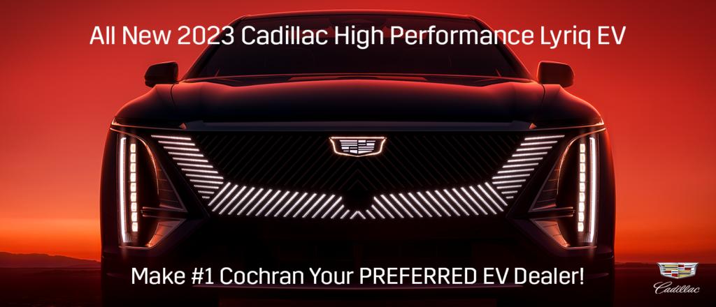 New 2023 Cadillac Lyriq