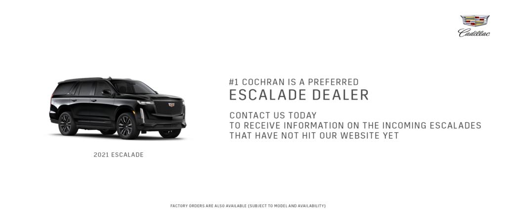 Preferred Escalade Dealer