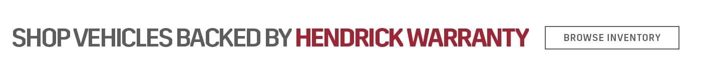 Hendrick Warranty
