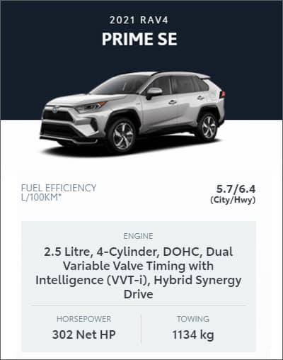 2021 RAV4 PRIME SE AWD