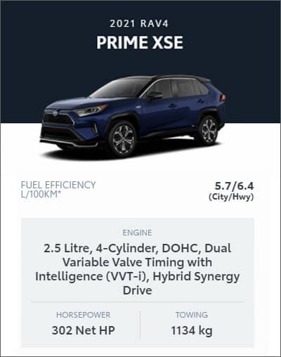 2021 RAV4 PRIME XSE AWD