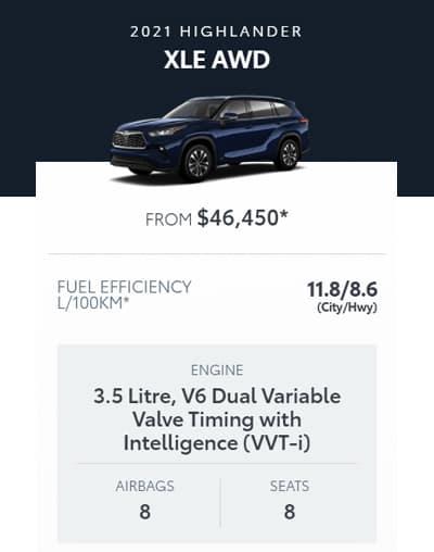 2021 Highlander XLE AWD