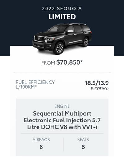 2022 Sequoia Limited