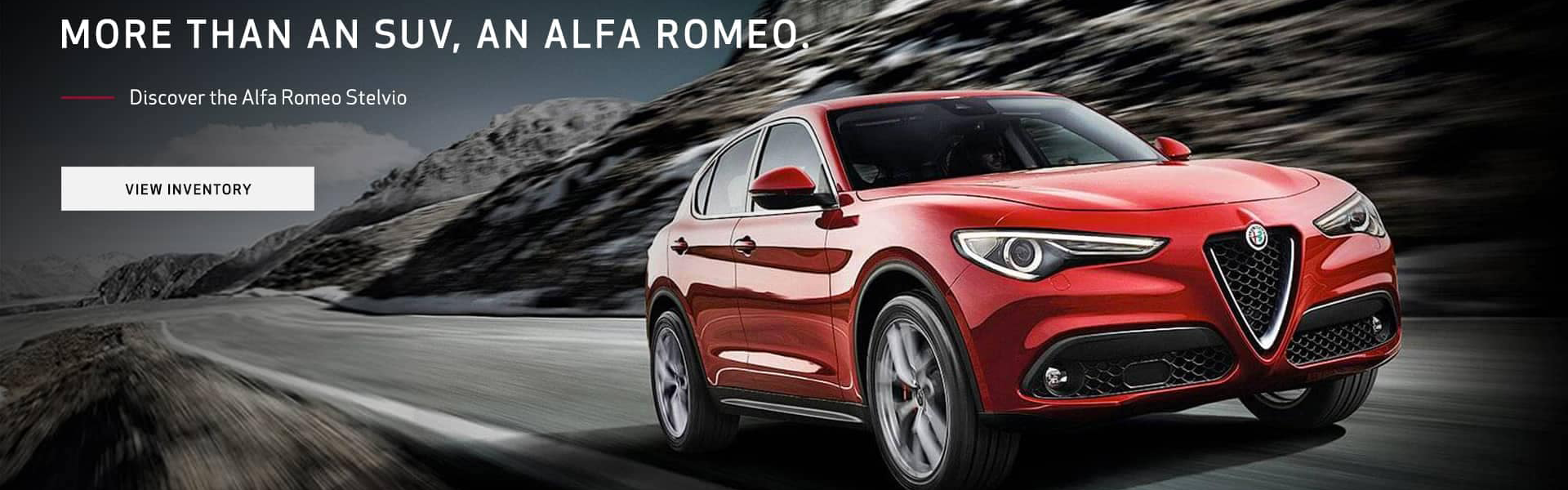 More than an SUV, an Alfa Romeo. View inventory.