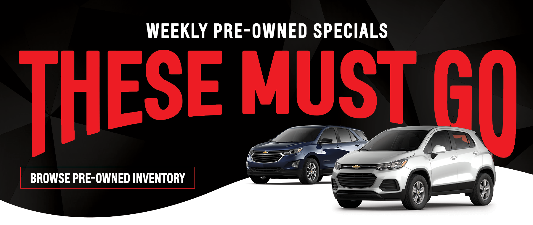 Weekly Pre Owned Specials